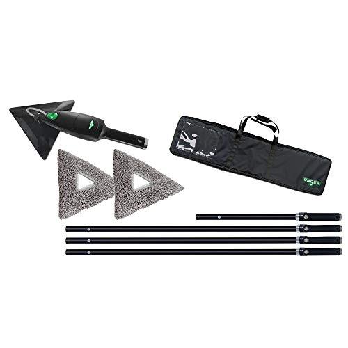 UNGER SRKOH Stingray-Set 450 OS Fensterreiniger - inkl. Stangen 3x lang und 1x kurz, 2 Pads, Tasche