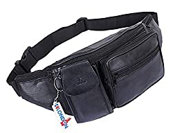 ELEGANT STYLE LEATHER WAIST BAG