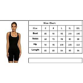 Enggras Women's Sport Fitness Workout Yoga Bodysuits Leotards Summer Beach Short Rompers Jumpsuits