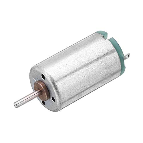 JINXIUCASE DC 5V 13400RPM Cepillo Motor de Engranaje Compatible con Motor de Ventilador de teléfono móvil 1220 USB - 4pcs