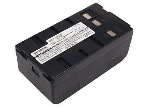 Rechargeable Battery HHR-V214A/K Replacement for Panasonic NV-3CCD1, NV-61, LC-1, NV-A3/E (6v 4200mAh)