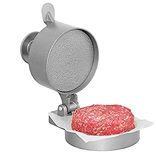 Guajave Hamburguesa Prensa Hamburguesa Empanada Fabricante Carne Aleación de Aluminio Antiadherente para Cocina