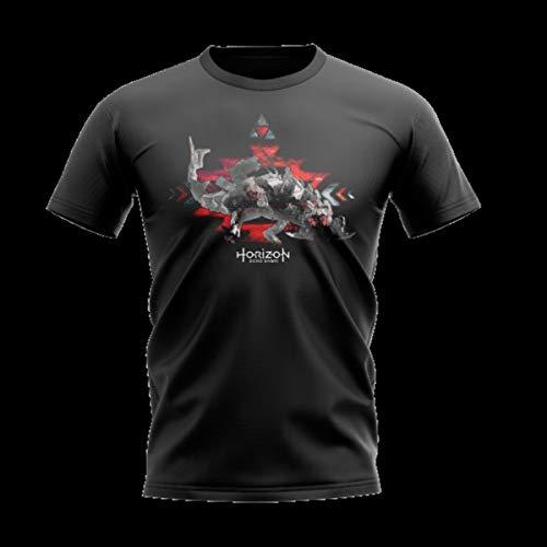 Camiseta horizon zero dawn - machine thunderous - banana geek xg