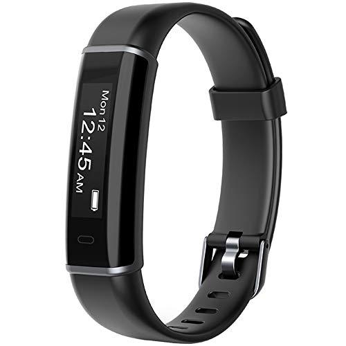 Willful Contapassi da Polso Orologio Fitness Uomo Donna Smartband Bluetooth Fitness Tracker Pedometro Orologio Sportivo Android iOS Compatibile Conta Calorie Impermeabile IP68