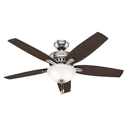 Hunter Fan 53312 Ventilador de Techo con Luz, Newsome, Grande