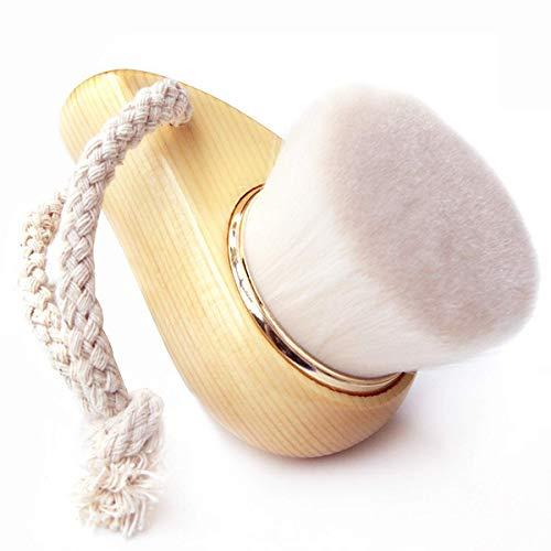 PIXNOR Brosse nettoyante pour le visage - En microfibre douce - Blanc