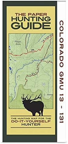 Colorado GMU's 13-131 Hunting Ranking TOP10 Map Ranking TOP19