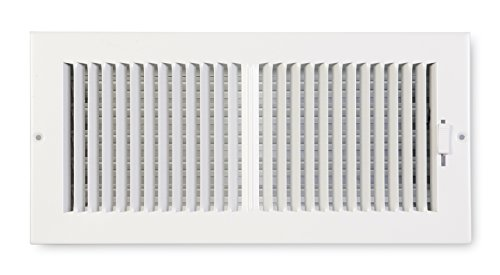 Accord ABSWWH2144 Sidewall/Ceiling Register with 2-Way Design, 14-Inch x 4-Inch(Duct Opening Measurements), White
