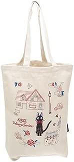 Kiki's Delivery Service Embroidery Cotton Tote Bag