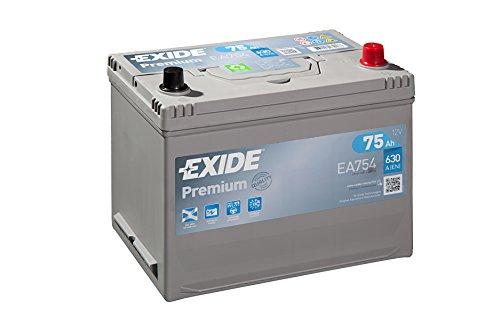 Exide ea754Starter recargable