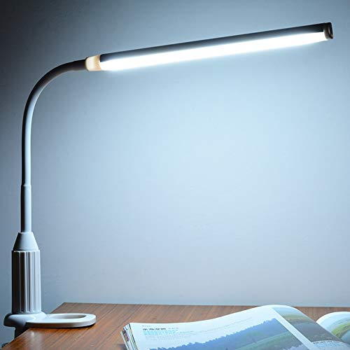 BoMiVa - LED Stand Desk Lamp Flexible Touch Switch Control Dimmable USBReading Study Table Lamp