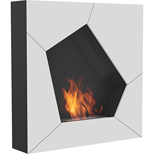 Why Choose Domadeco Oklahoma wall mounted bioethanol fireplace/Built on Wall Fireplace white and bla...