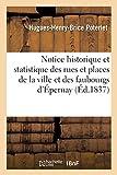 Notice historique et statistique des rues et places de la ville et des faubourgs d'Épernay