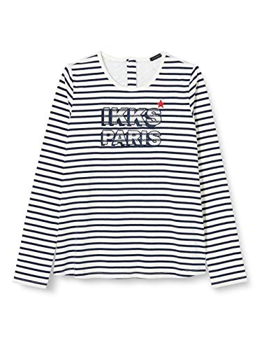 IKKS Junior XR10052 Camiseta, Blanco Hueso, 6 años para Niños