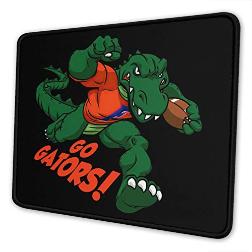 Florida Gators University Gaming Square Mouse Pad (7.9 X 9.5 in) Non-Slip Rubber Surface Mouse Pad Desktop Office Mouse Pad
