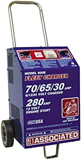 Associated Equipment 6/12/24-Volt Heavy-Duty Fast Charger - ASO-6006