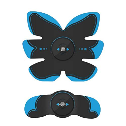 ZYX Body Toner Muscle Formateur sans Fil de Vitesse de Formation Unisexe Fitness Portable pour Abdomen/Bras/Formation Jambe Accueil Bureau Équipement d'exercice,Bleu