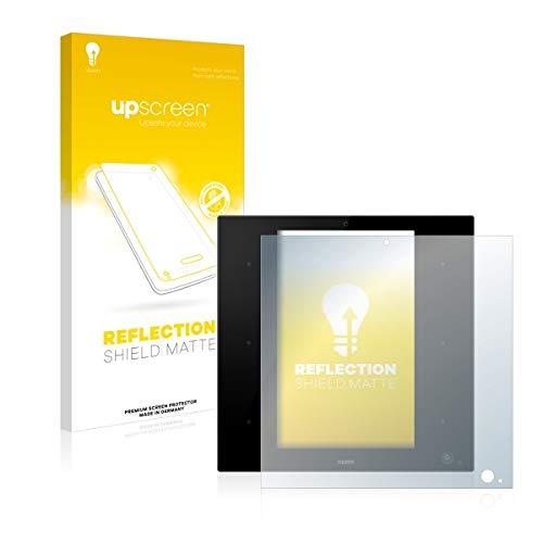 upscreen Reflection Shield Matte Displayschutz Schutzfolie für Zipato ZipaTile Z-Wave Zigbee Gateway (matt - entspiegelt, hoher Kratzschutz)