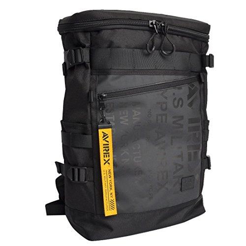 [アヴィレックス] AVIREX リュック メンズ アビレックス 大容量 防水 A4 20L リュックサック デイパック スクエア型 スクエアバッグ バックパック