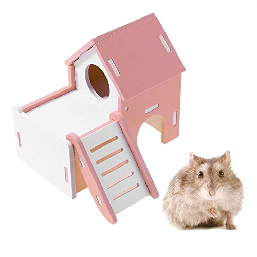 YWRD Jaula Hamster Grande Jaula Hamster Ruso Hámster Accesorios Juguetes de Peluche...