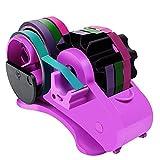 KKPLZZ Cortador de Cinta automático Multifuncional, dispensador de Cinta en Rollo con núcleo, máquina cortadora de Cinta de Banco de Embalaje para Uso en la Oficina en casa