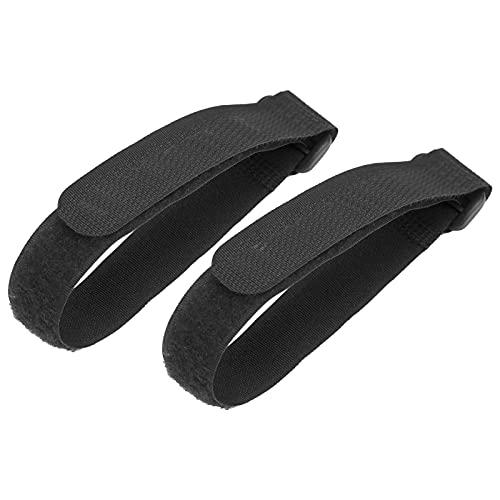 Propeller Blade Fixed Straps, Blade Protector Stabilizer Fácil De Usar Y Almacenar Buena Compatibilidad Portátil Y Ligero para Compatible con 2 / 2S(Negro)
