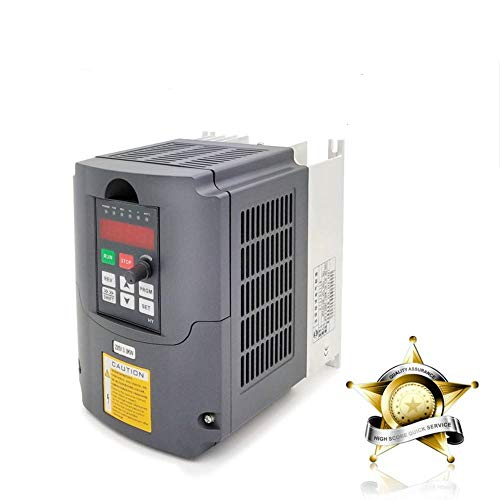 VFD 220V 3.0KW 4hp Variable Frequency Drive CNC Motor Inverter Converter for Spindle Speed Control HUANYANG HY-Series(3.0KW, 220V)