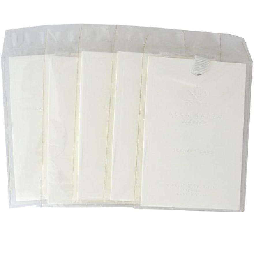 ファセット壊滅的な比類のないアッカカッパ ホームコレクション サシェ (5シート) (ホワイトモスの香り) 【並行輸入品】