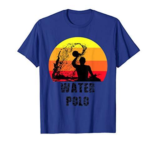Wasserball Spieler Silhouette | Water Polo Geschenkidee T-Shirt