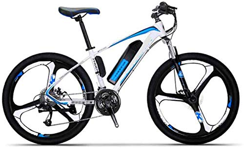 Elektrofahrrad Mountainbike 26-Zoll-Berg-Elektrofahrräder, mutige Federgabel Aluminiumlegierung Boost Fahrrad Erwachsene Radfahren Lithium Batterie Strand Cruiser für Erwachsene Elektrofahrrad Pedelec