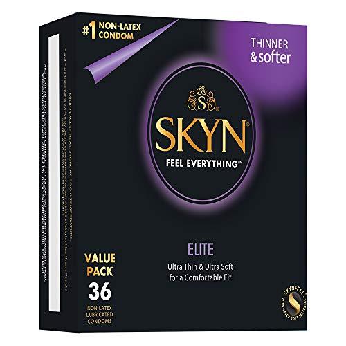 SKYN Elite, preservativos ultrafinos sin látex, 36 unidades
