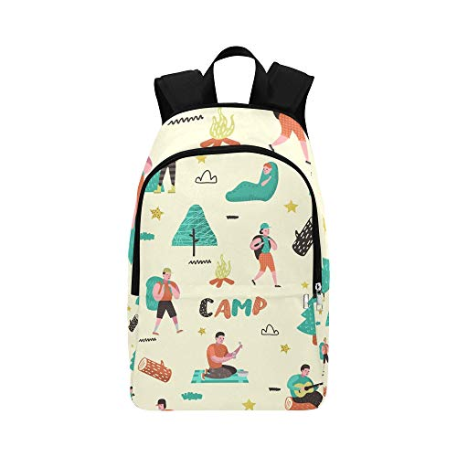 NANA Day Bookbag Leisurely Free Romantic Travel Camping Durable Water Resistant Classic Aesthetic Backpack Hiking Bag for Boys Best Bookbag Outdoor Daypack
