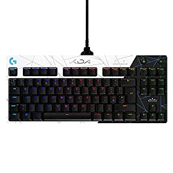 Play All Out: Logitech G PRO K/DA wired gaming keyboard is designed with official League of Legends alt-universe K/DA art for a complete and immersive play experience Pro-Grade: 2 ms report rate engineered for speed and responsiveness; built with and...