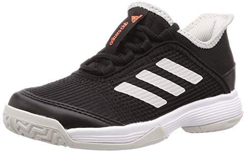 adidas Unisex-Kinder Adizero Club K Tennisschuhe, Cblack Ftwwht Greone, 32 EU