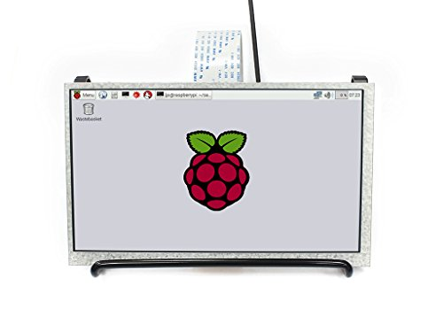 Waveshare 7inch IPS LCD 1024X600 High Resolution Display Screen for Raspberry Pi 4 2B 3B 3B+ 3A+ Zero Zero W WH Supports Raspbian Ubuntu OSMC DPI Interface