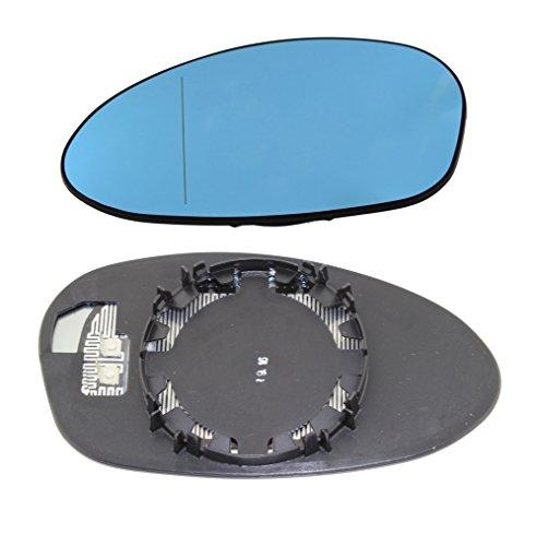 TarosTrade 57-0317-L-50633 Vetro Specchietto Retrovisore Riscaldabile Blu Lato Sinistro