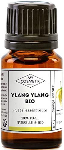 Aceite esencial de Ylang Ylang orgánico - MyCosmetik - 10 ml