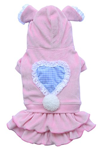 Top Model Doggy Dolly BD192/Big Dog Dress for Large Dogs Pink