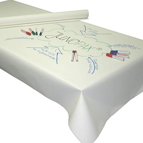 JUNOPAX 50m x 1,15m World Café Methode beschreibbare Papiertischdecke