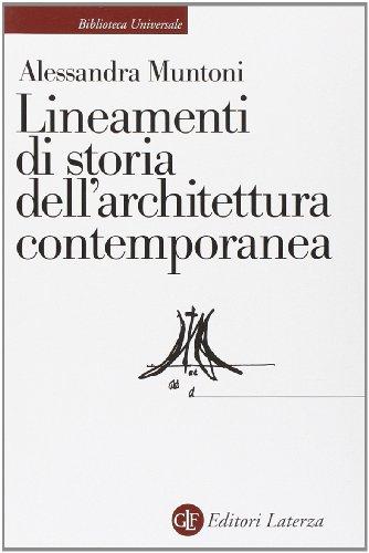 Lineamenti di storia dell'architettura contemporanea