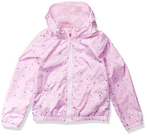 Pink Platinum Big Girls Windbreaker Jacket, Pink Lavender, 10/12