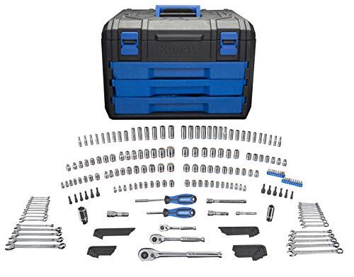 Kobalt 227-Piece Standard/Metric Mechanics Tool Set with Case 86756
