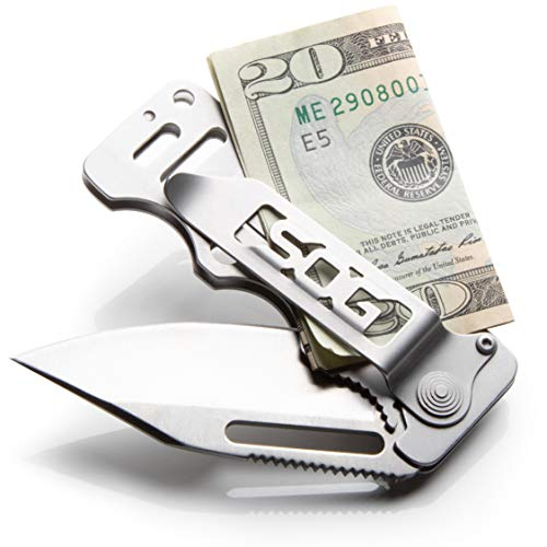 Gift Ideas - Best Gifts Under 50: SOG Cash Card Money Clip Knife