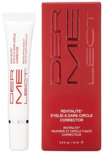 DERMELECT COSMECEUTICALS - Revitalite Eyelid and Dark Circle Corrector - Decrease Puffiness, Dark Circles and Under-Eye Bags (0.5 oz)