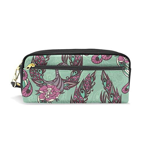Pencil Case Mythische Zwaan Vogel Grote Capaciteit Student Pen Bag Portemonnee Cosmetische Make-up Tas voor Vrouwen