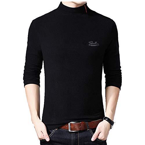 Preisvergleich Produktbild Langärmeliges T-Shirt für Herren Gr. M,  Schwarz