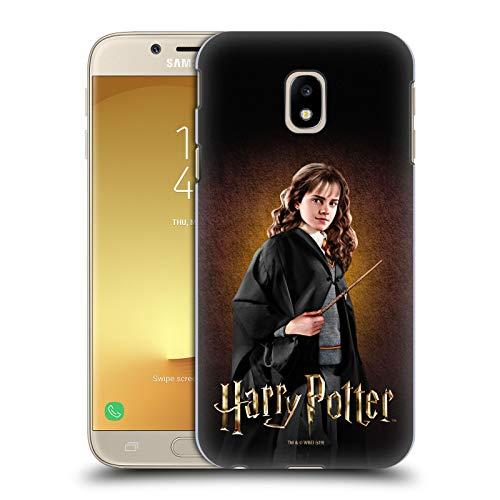 Ufficiale Harry Potter Hermione Granger Chamber of Secrets IV Cover Dura per Parte Posteriore Compatibile con Samsung Galaxy J3 (2017)