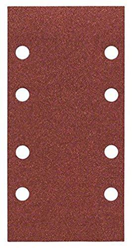Bosch Professional Schleifblatt Expert (für Wood und Paint Holz und Farbe, Schwingschleifer, 10 Stück, Körnung 120, C430)