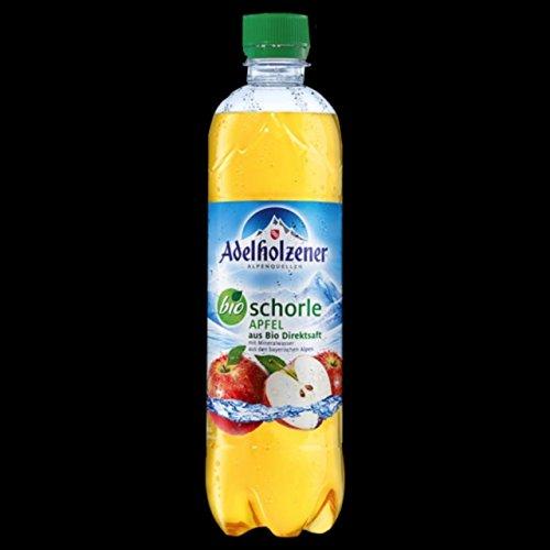 Adelholzener Bio Schorle Apfel 0,5l 18 Flaschen
