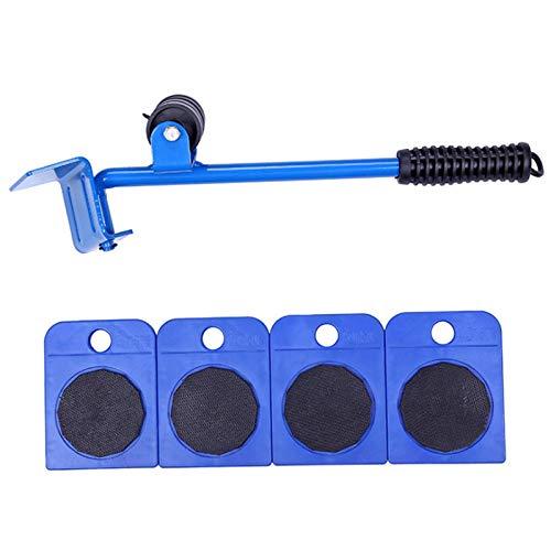 xaihe - Juego de herramientas de rodillos para elevadores de muebles (máx. 150 kg)